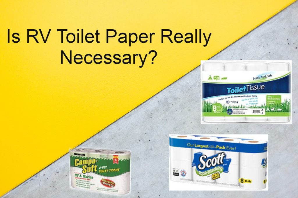Is RV Toilet Paper Really Necessary? | Baird, TX